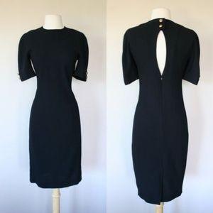 Liz Claiborne black dress petite size 8